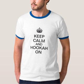 Keep Calm and Hookah On T-Shirt