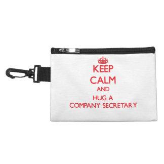 Keep Calm and Hug a Company Secretary Accessories Bags