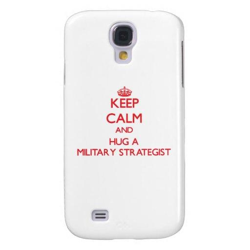 Keep Calm and Hug a Military Strategist HTC Vivid / Raider 4G Case
