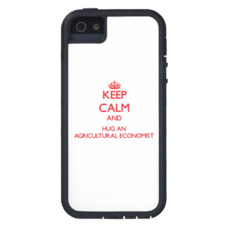 Keep Calm and Hug an Agricultural Economist iPhone 5 Cases