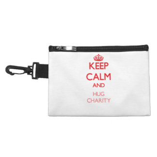Keep Calm and Hug Charity Accessories Bag