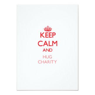 Keep Calm and Hug Charity Announcement