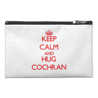 Keep calm and Hug Cochran Travel Accessories Bags