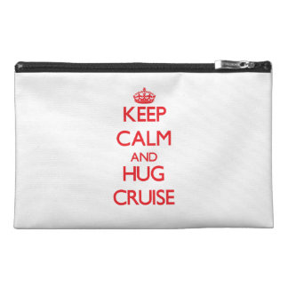 Keep calm and Hug Cruise Travel Accessories Bags