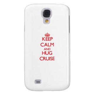 Keep calm and Hug Cruise Samsung Galaxy S4 Covers