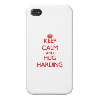 Keep calm and Hug Harding iPhone 4 Covers