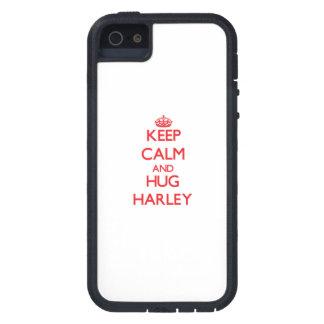 Keep Calm and Hug Harley iPhone 5 Cases
