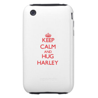 Keep Calm and Hug Harley Tough iPhone 3 Cover