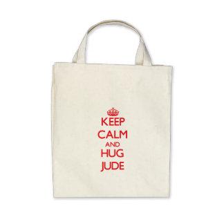 Keep Calm and HUG Jude Tote Bag