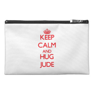 Keep Calm and HUG Jude Travel Accessory Bags