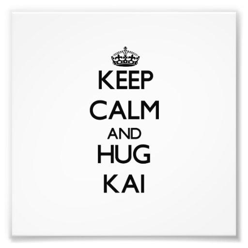 Keep Calm and Hug Kai Photo