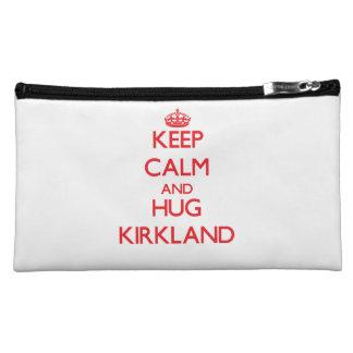 Keep calm and Hug Kirkland Cosmetic Bag