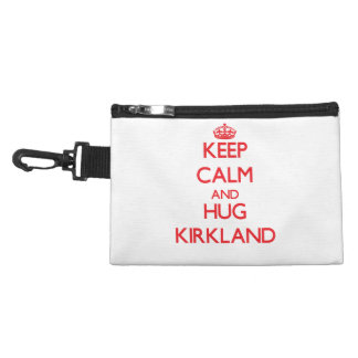 Keep calm and Hug Kirkland Accessory Bags