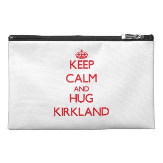 Keep calm and Hug Kirkland Travel Accessories Bag