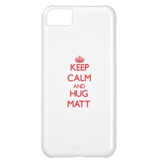 Keep Calm and HUG Matt Case For iPhone 5C