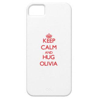 Keep Calm and Hug Olivia iPhone 5 Case