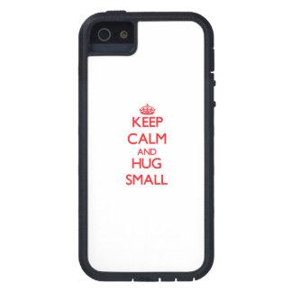 Keep calm and Hug Small iPhone 5 Case