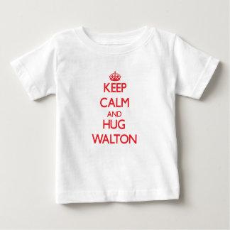 Keep calm and Hug Walton Tees