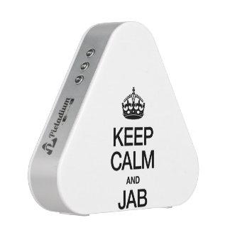 KEEP CALM AND JAB BLUEOOTH SPEAKER