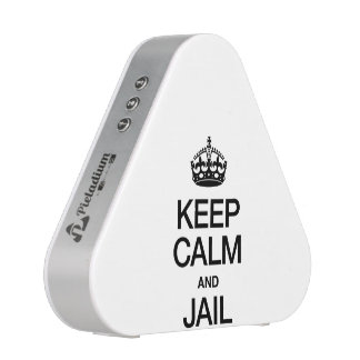 KEEP CALM AND JAIL SPEAKER