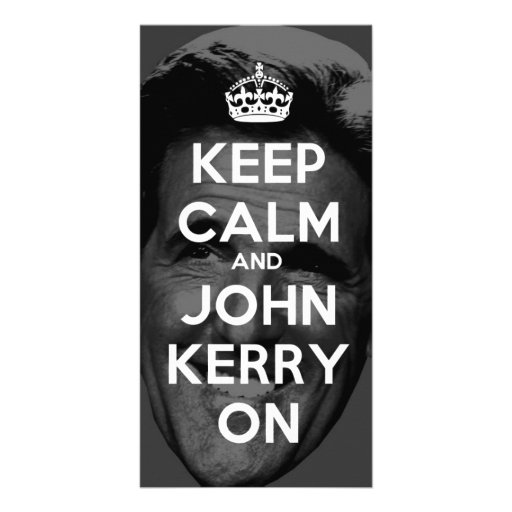 Keep Calm and John Kerry On Picture Card