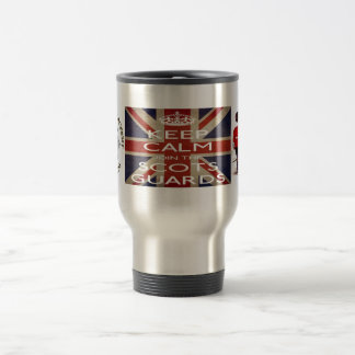 Keep calm and join The Scots Guards Travel Mug