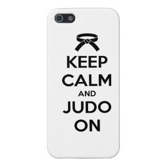 Keep Calm and Judo On Case For The iPhone 5