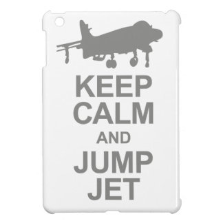 Keep Calm and Jump Jet iPad Mini Cover