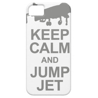 Keep Calm and Jump Jet iPhone 5 Cover