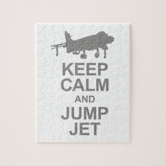 Keep Calm and Jump Jet Puzzles