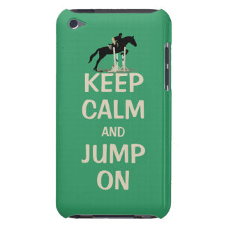 Keep Calm and Jump On Horse Case-Mate iPod Touch Case