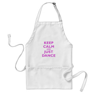 Keep Calm and Just Dance Aprons