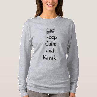 Keep Calm and Kayak T-Shirt