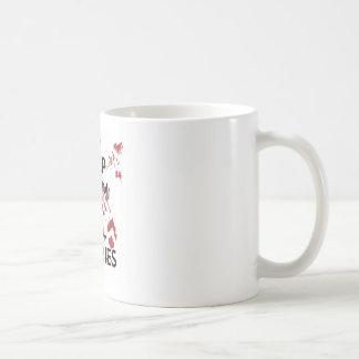Keep Calm and Kill Zombies Basic White Mug