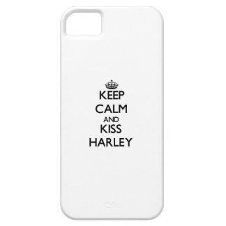 Keep Calm and Kiss Harley iPhone 5 Case