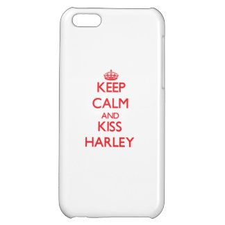 Keep Calm and kiss Harley Case For iPhone 5C