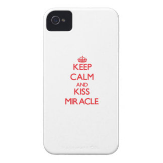 Keep Calm and Kiss Miracle Case-Mate iPhone 4 Case