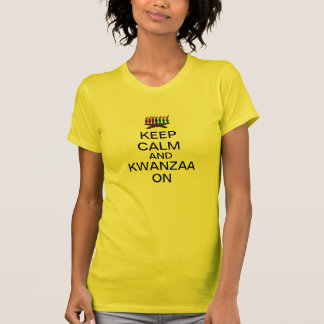Keep Calm and Kwanzaa On T-Shirt