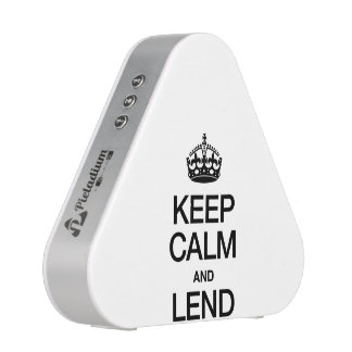 KEEP CALM AND LEND BLUEOOTH SPEAKER