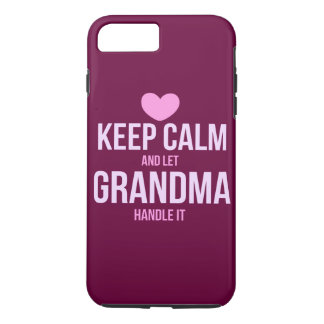 Keep calm and let grandma handle it Case-Mate iPhone case
