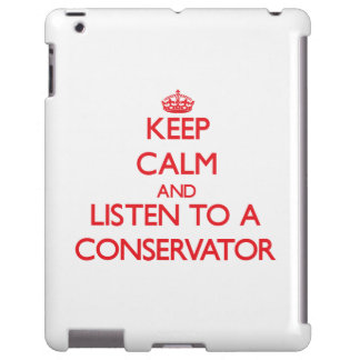 Keep Calm and Listen to a Conservator