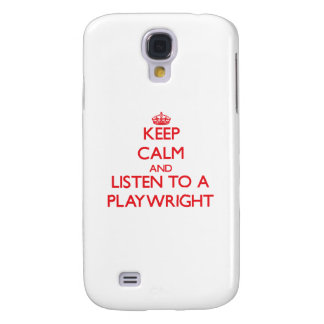Keep Calm and Listen to a Playwright HTC Vivid / Raider 4G Case