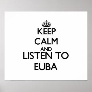 Keep calm and listen to EUBA Print