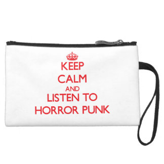 Keep calm and listen to HORROR PUNK Wristlets