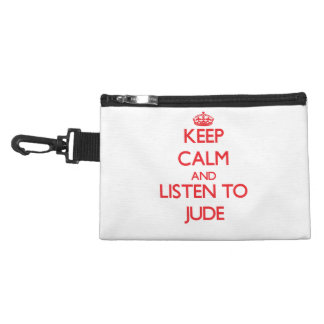 Keep Calm and Listen to Jude Accessories Bag