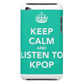 Keep Calm and Listen to Kpop~ iPod Case-Mate Case