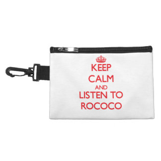 Keep calm and listen to ROCOCO Accessories Bag