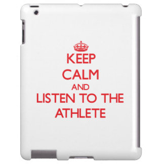 Keep Calm and Listen to the Athlete