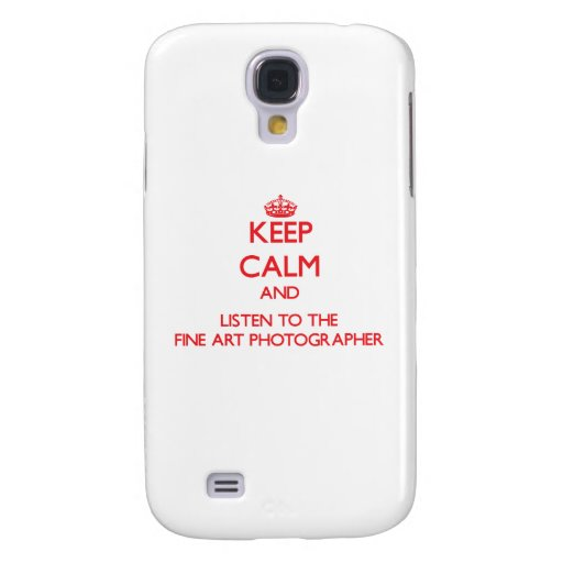 Keep Calm and Listen to the Fine Art Photographer HTC Vivid Cases