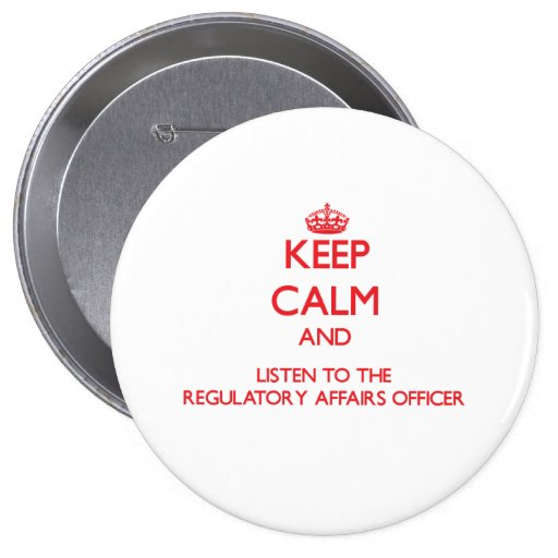 Keep Calm and Listen to the Regulatory Affairs Off Pins